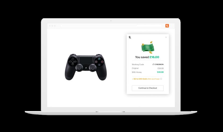 controller savings on laptop