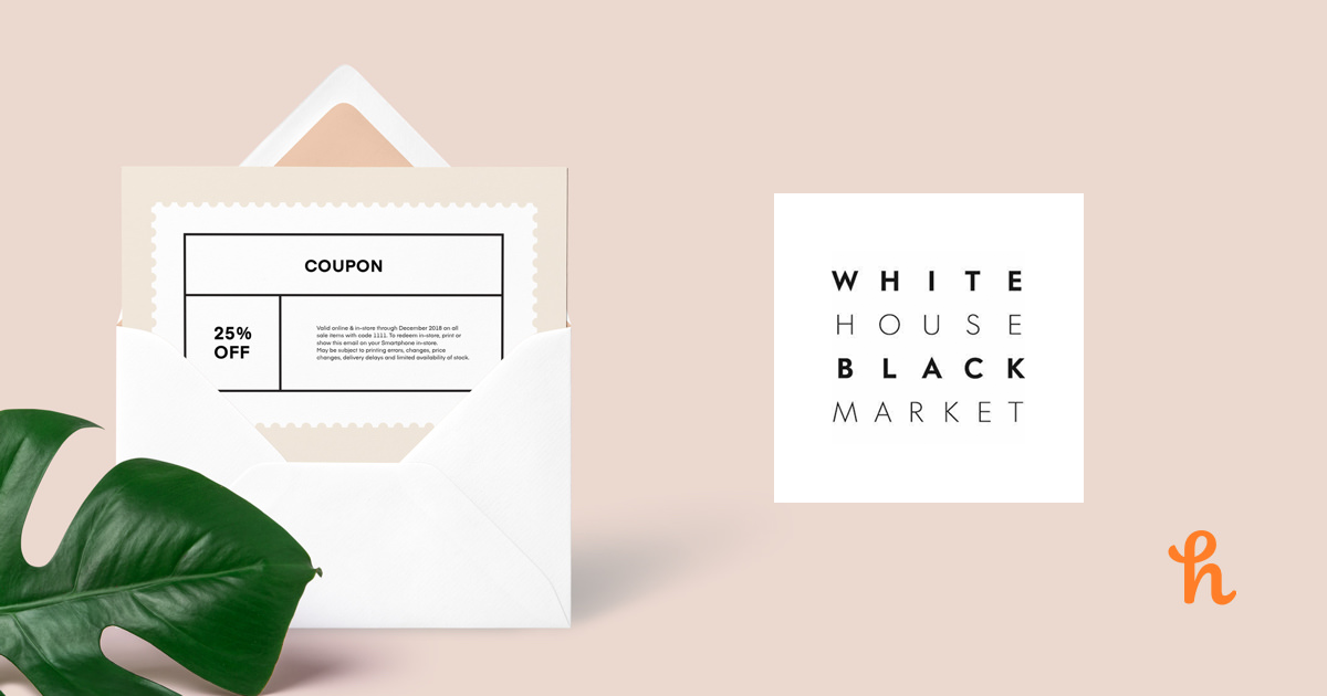 image regarding White House Black Market Printable Coupons known as 9 Simplest White Area Black Market place Discount codes, Promo Codes - Sep