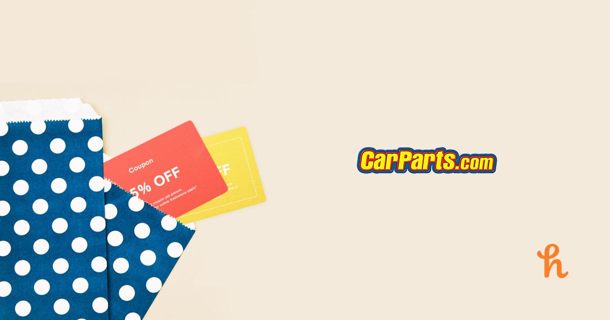Carparts com coupon code 2019