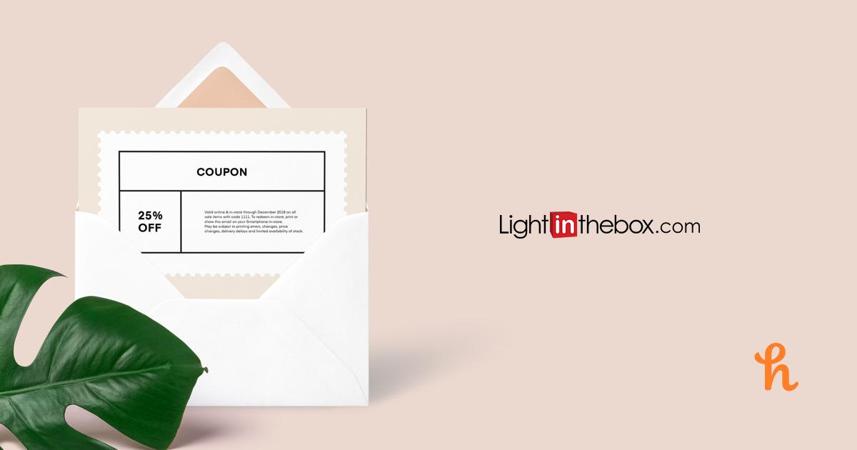 8 Best LightInTheBox Coupons, Promo Codes Dec 2019 Honey