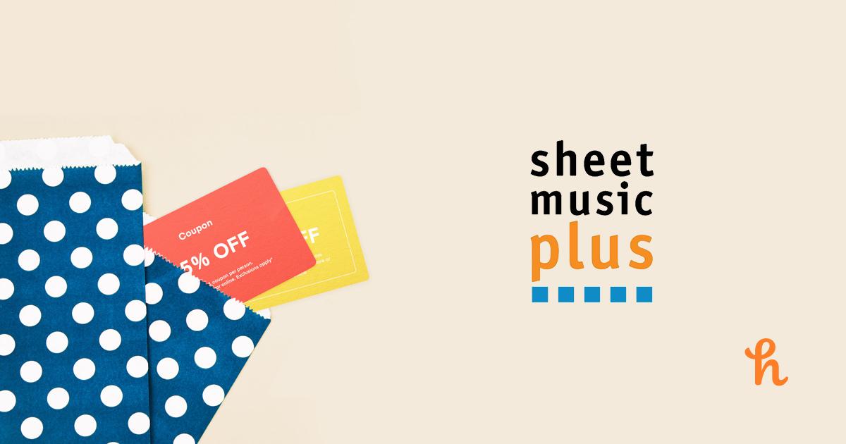 sheet music plus