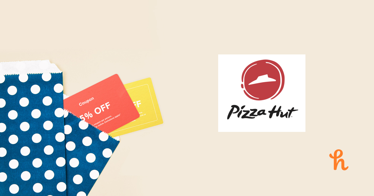graphic about Incredible Pizza Printable Coupons named 10 Most straightforward Pizza Hut On the net Discount codes, Promo Codes - Sep 2019 - Honey