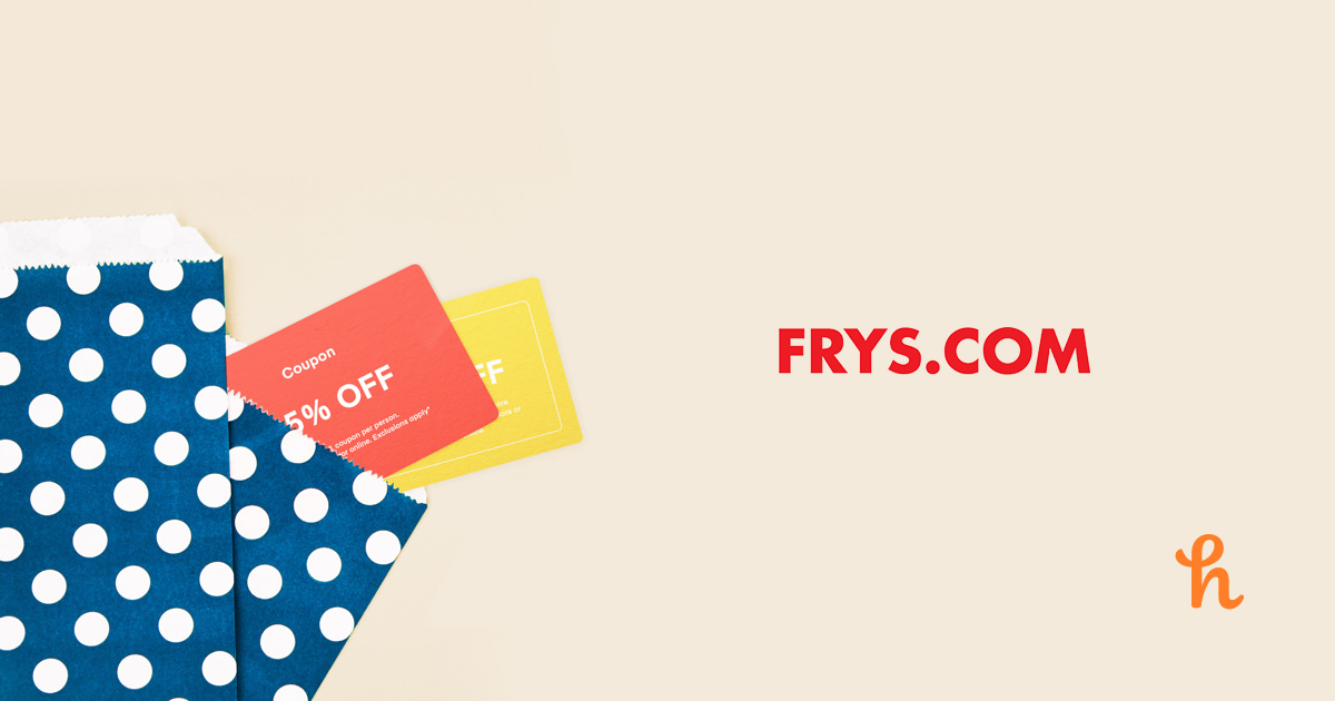 photo relating to Frys Printable Coupons named 9 Easiest Frys On the web Coupon codes, Promo Codes - Sep 2019 - Honey