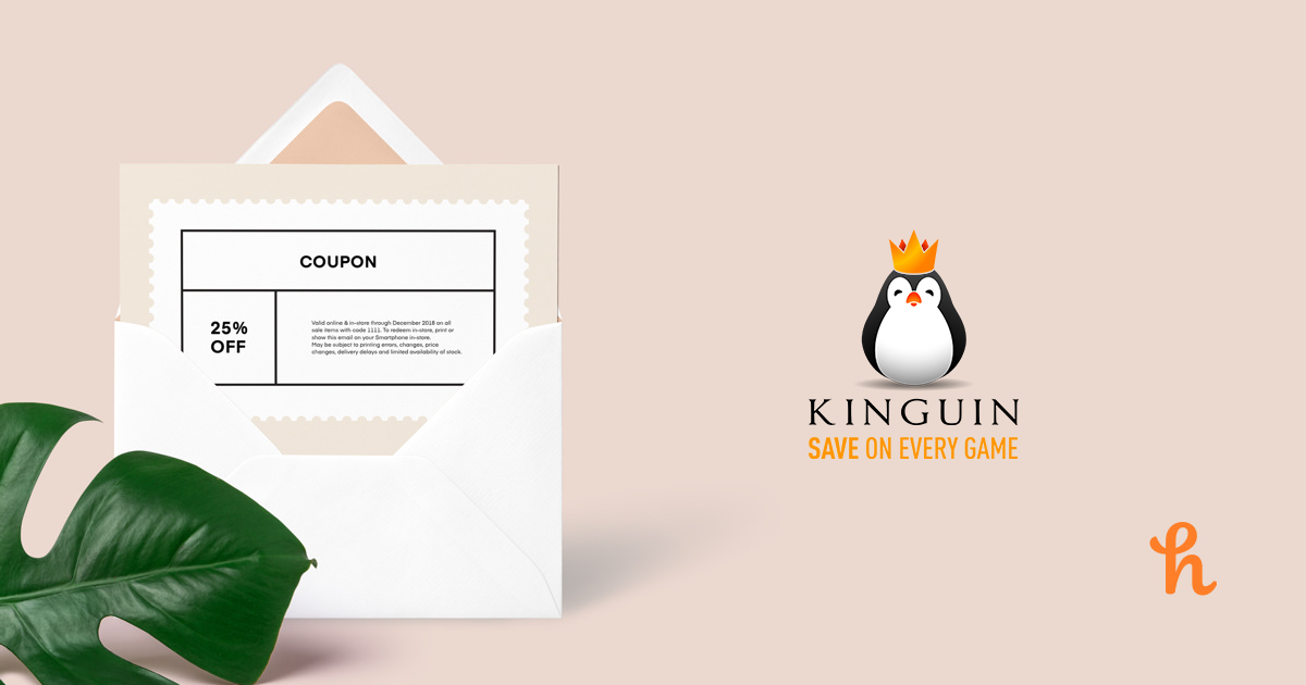 10 Best Kinguin Online Coupons, Promo Codes - Aug 2019 - Honey
