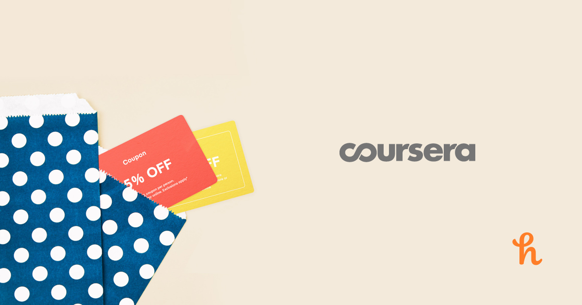 Coursera Online Coupons, Promo Codes, Deals - Aug 2019 - Honey